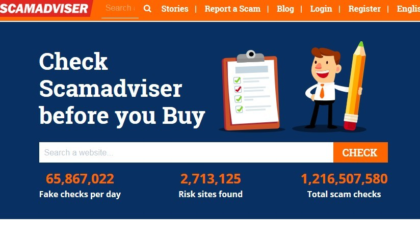 Is Scamadviser A Scam Or Legit How To Check A Website Is