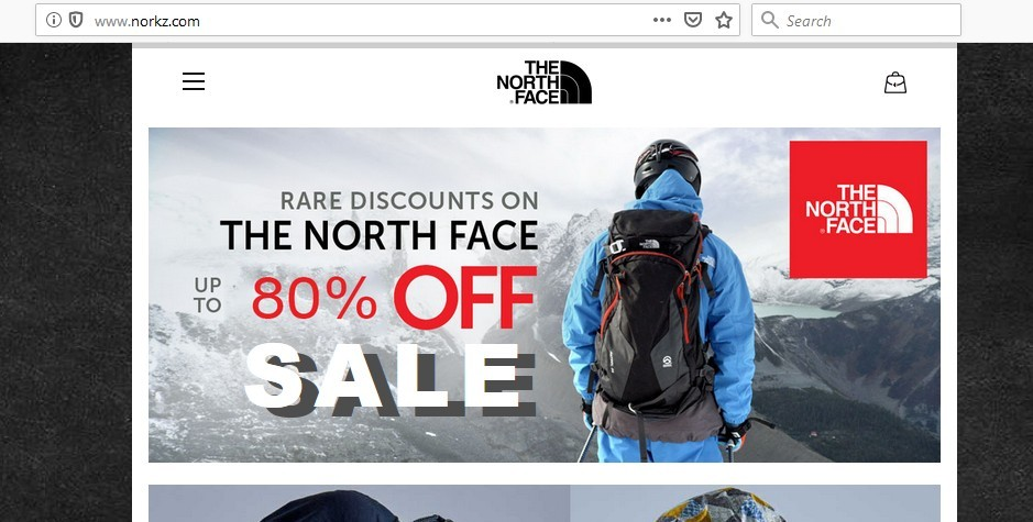 Norkz.com's main page