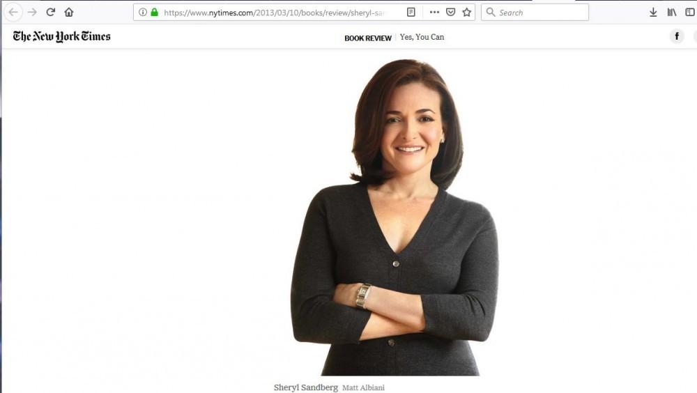 New York Times Sheryl Sandberg