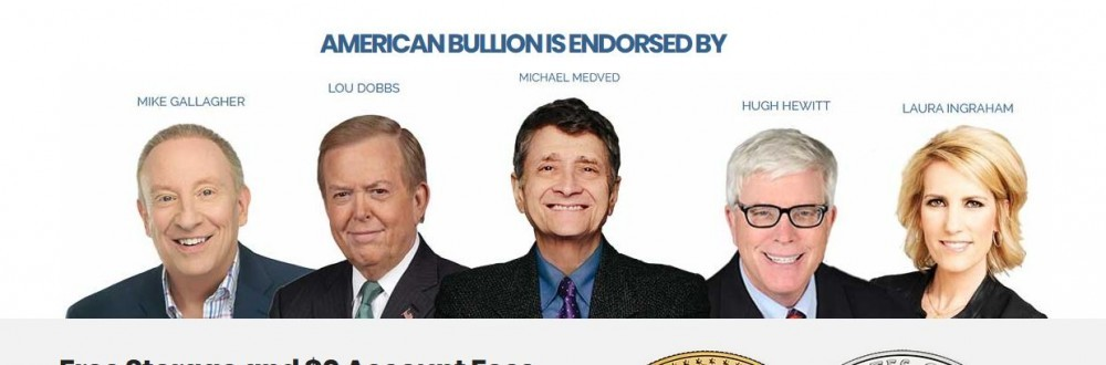 Well-known people who endorse American Bullion