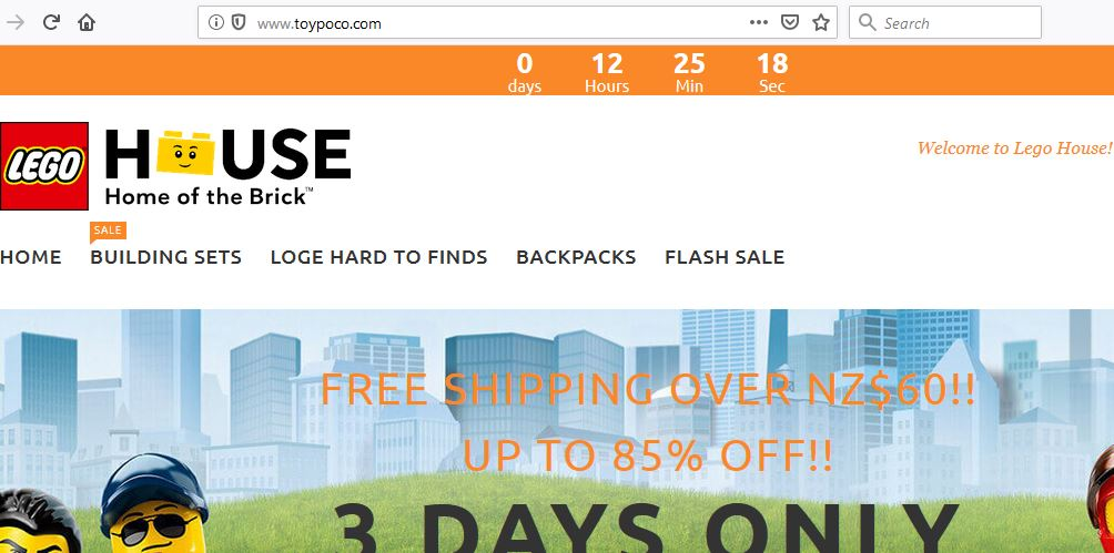 ToyPoco.com's Main Page