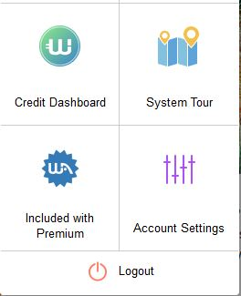 Finding the Account Settings button