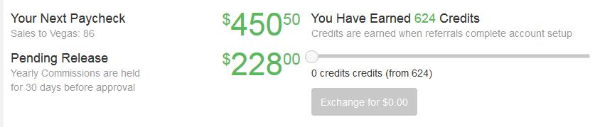 Money I earned through Wealthy Affiliate